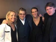 VES Awards- Patton Oswalt, Eve Cohen and Matt Oswalt