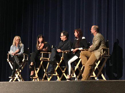 Director Patty Jenkins, Matthew Jensen, ASC, Prod Designer Aline Bonetto, Sound Editor James H. Mather
